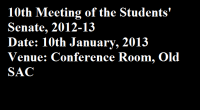 Agenda for the 10th meeting